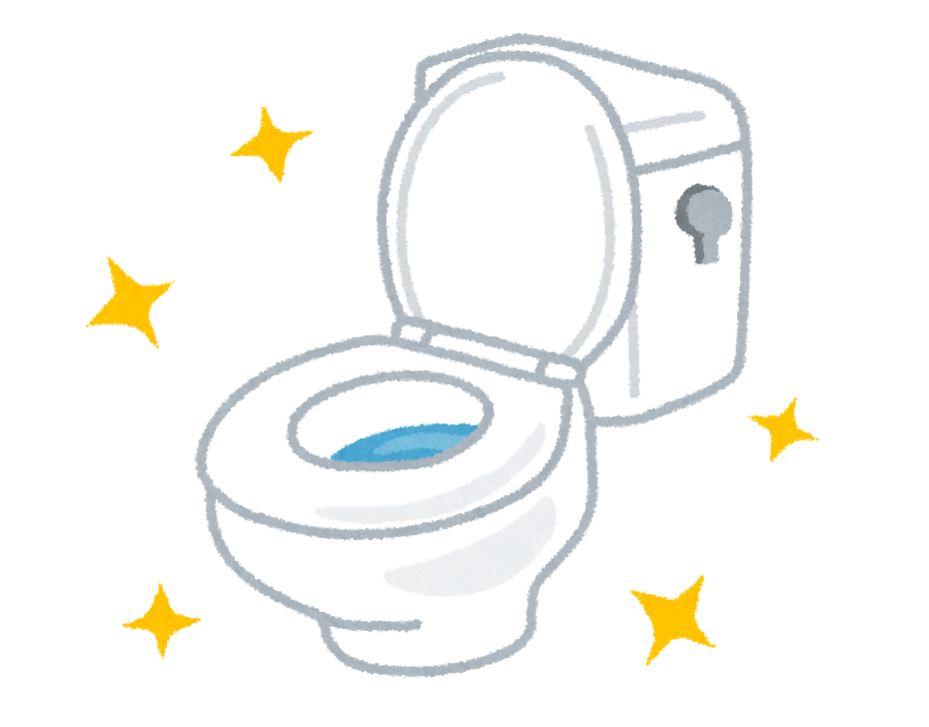 リフォームで綺麗になったトイレ